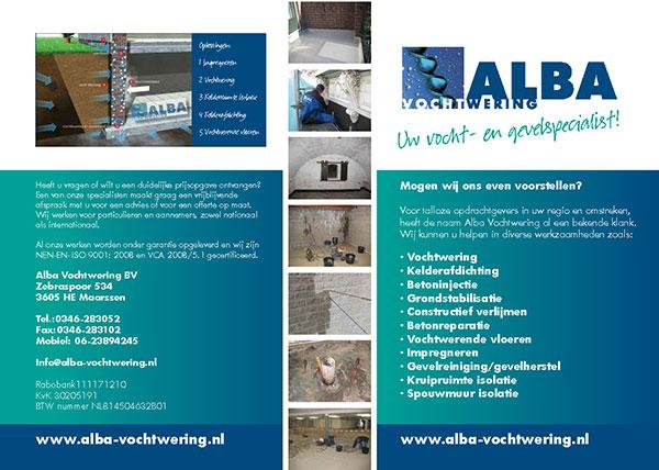 Alba Vochtwering B.V. brochure